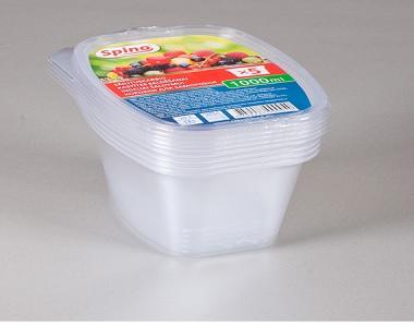 Kastītes saldēšanai 1000ml, caurspīdīgi 4742287000040