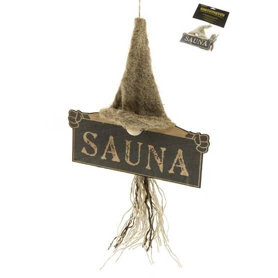 Plāksnīte uz durvīm SAUNA 6410412427885