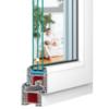 IGLO5 PVC logi un durvis pēc i